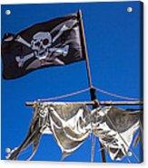 The Death Flag Acrylic Print by Garry Gay