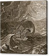 The Dioscuri Protect A Ship, 1731 Acrylic Print by Bernard Picart