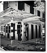 The Dog House Acrylic Print by John Rizzuto