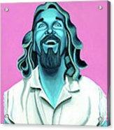 The Dude Acrylic Print by Ellen Patton