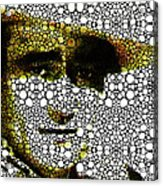 The Duke - John Wayne Tribute By Sharon Cummings Acrylic Print by Sharon Cummings