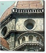 The Duomo Firenze Acrylic Print by Melinda Saminski