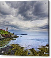 The Eastern Most Point In The U.s.a  Acrylic Print by Mircea Costina Photography