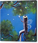 The Enchanted By Shawna Erback Acrylic Print by Shawna Erback