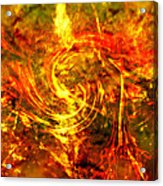 The End - 12/21/2012 - Horrific Hallucination Acrylic Print by J Larry Walker