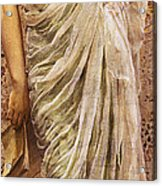 The End Of The Story Acrylic Print by Albert Joseph Moore