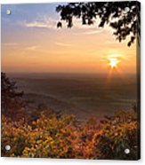 The Evening Star Acrylic Print by Debra and Dave Vanderlaan