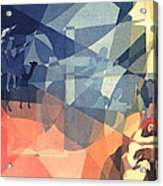 The Event 1965 Acrylic Print by Glenn Bautista
