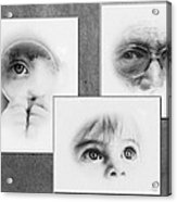 The Eyes Have It Acrylic Print by Gun Legler