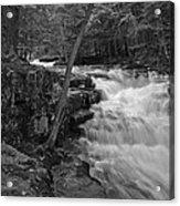 The Falls Acrylic Print by David Rucker
