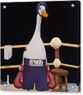 The Featherweight... Acrylic Print by Will Bullas