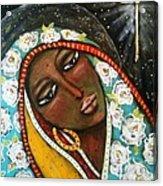 The First Noel Acrylic Print by Maya Telford