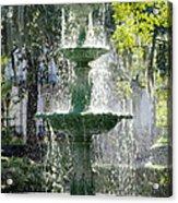 The Fountain Acrylic Print by Mike McGlothlen