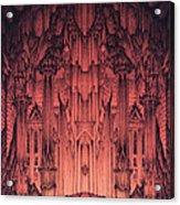 The Gates Of Barad Dur Acrylic Print by Curtiss Shaffer