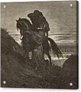 The Good Samaritan Acrylic Print by Antique Engravings