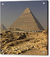 The Great Pyramids Of Giza Egypt  Acrylic Print by Ivan Pendjakov