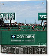 The Green Monster 99 Acrylic Print by Tom Prendergast