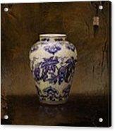 The Guan Vase Acrylic Print by Bruno Capolongo