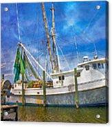 The Harbor II Acrylic Print by Betsy Knapp