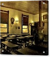 The Haunted Classroom Acrylic Print by Dan Sproul