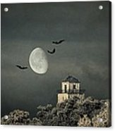The Haunted House Acrylic Print by Heike Hultsch