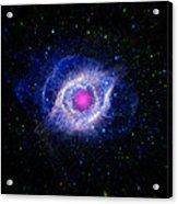 The Helix Nebula  Acrylic Print by The  Vault - Jennifer Rondinelli Reilly