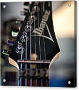 The Ibanez Guitar Acrylic Print by David Patterson