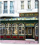 The Irish Pub - Philadelphia Acrylic Print by Bill Cannon
