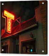 The Jazz Estate Acrylic Print by Scott Norris