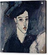 The Jewess Acrylic Print by Amedeo Modigliani