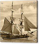The Lady Washington Ship Acrylic Print by Kym Backland