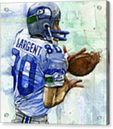 The Largent Acrylic Print by Michael  Pattison