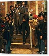 The Last Moments Of John Brown Acrylic Print by Pg Reproductions