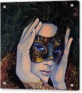 The Last Secret Acrylic Print by Dorina  Costras