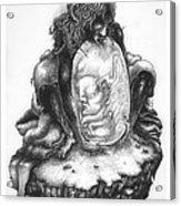 The Last Seraphim Acrylic Print by Natanel Araeha