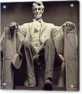The Lincoln Memorial Acrylic Print by Daniel Chester French