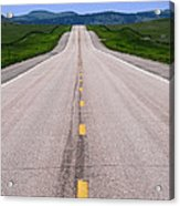 The Long Road Ahead Acrylic Print by Olivier Le Queinec
