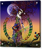 The Lover Acrylic Print by Kd Neeley