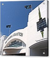 The Mansell Collection - Art Deco Building Acrylic Print by Gill Billington