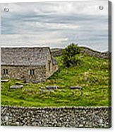 The Mens Chapel Acrylic Print by Adrian Evans