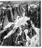 The Mooses Tooth Alaska Acrylic Print by Alasdair Turner