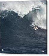 The Mouth Of Jaws Acrylic Print by Brad Scott