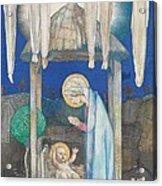 The Nativity Acrylic Print by Edward Reginald Frampton