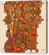 The New Chi Rho Acrylic Print by Martin Brockhaus