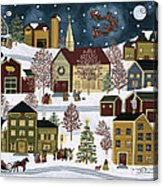 The Night Before Christmas Acrylic Print by Medana Gabbard