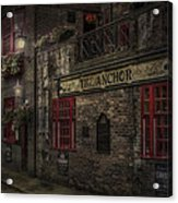 The Old Anchor Pub Acrylic Print by Erik Brede