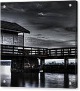 The Old Boat House Acrylic Print by Erik Brede