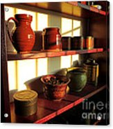 The Old Pantry Acrylic Print by Olivier Le Queinec