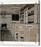 The Old Schoolhouse Acrylic Print by Susan Leggett