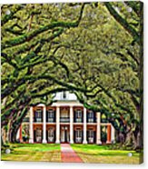 The Old South Acrylic Print by Steve Harrington